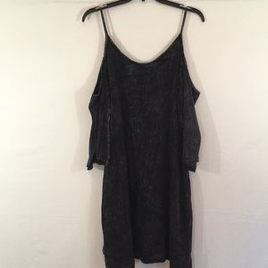 Black color Washed Dress